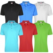Cutter & Buck Performance Pique Solid Mens Golf Polo - PL044