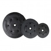 "Marcy Vinyl Weight Plate Sets 1"" Hole - 5Lbs - 25Lbs"