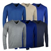 Walrus Golf Classic Cotton V Neck Sweater - ETM0172