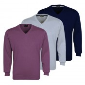 Walrus Golf Classic Cotton V Neck Sweater - ETM0263